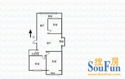 北美枫情小区租房,三室一厅,漪汾街北美枫情 精装 舒适,太原万柏