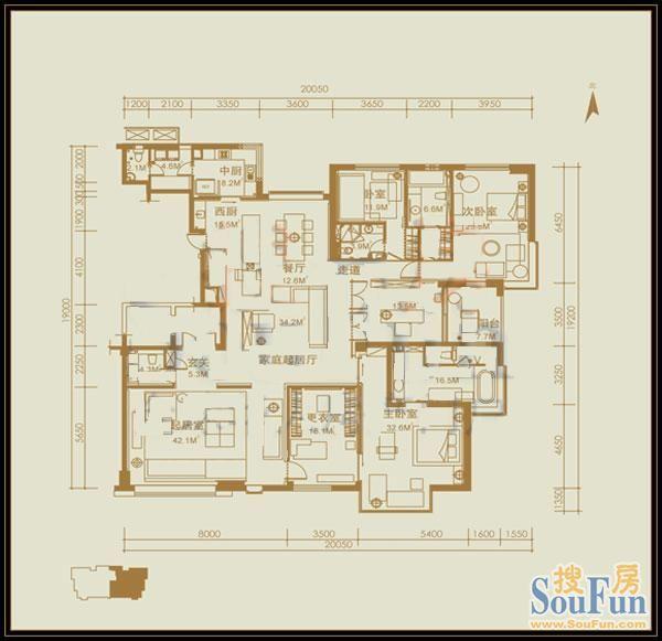 餐饮空间设计设计图展示图片