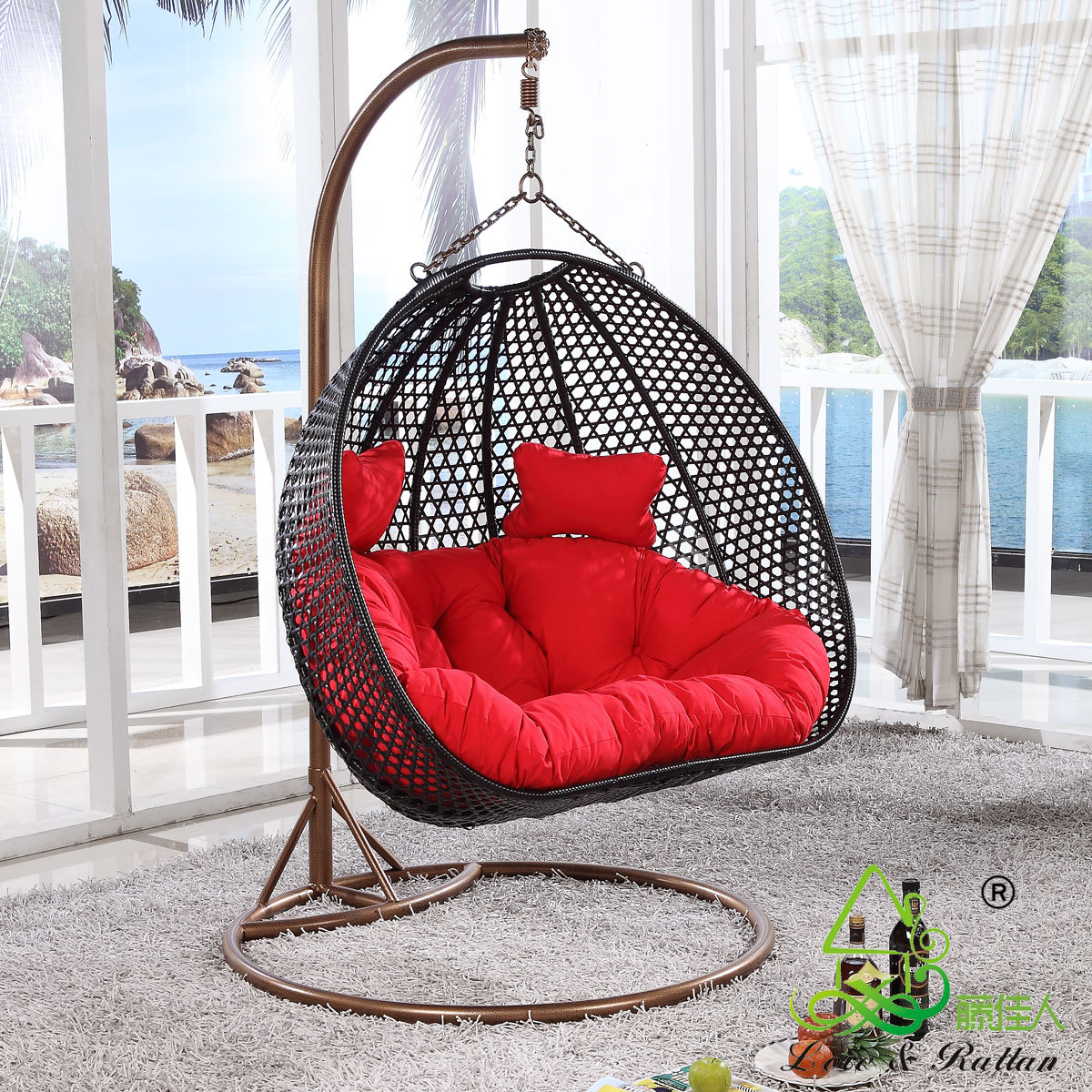 100 Bedroom Cane Hanging Chair Round Bedroom Ideas