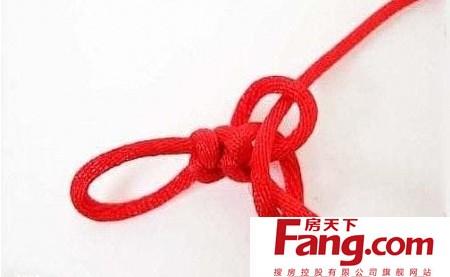 金刚结红绳手链编法图解 喜欢手工艺的来看看