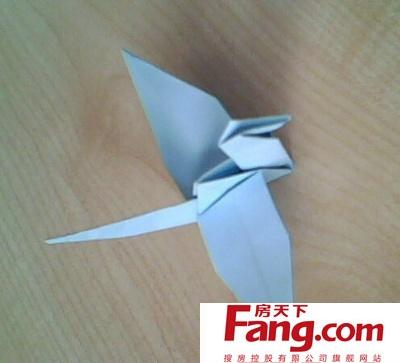 怎么折千纸鹤(最简单的方法)