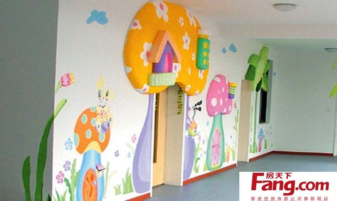 幼儿园墙面彩绘注意事项