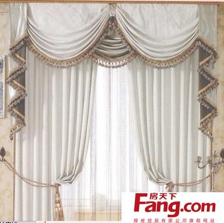 窗帘透视图手绘