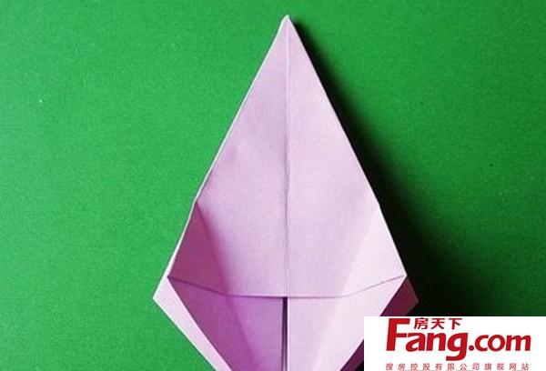 百合花的折法图解 最详细百合花的折法步骤图