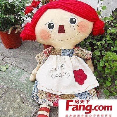 手工布偶制作图解 可爱娃娃可以有