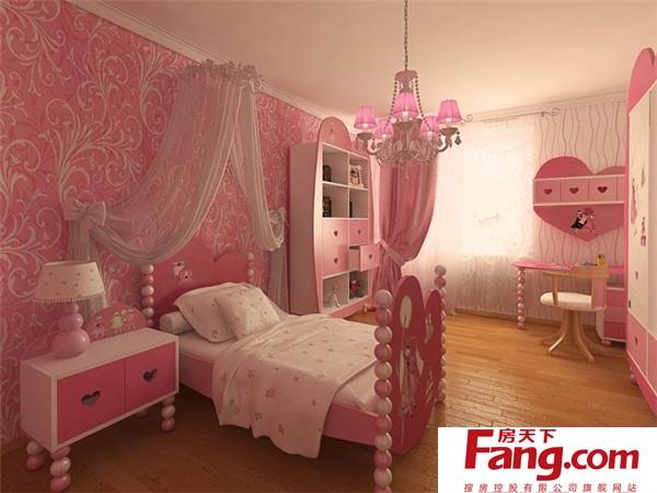 房间都可以呈现女孩的童年的每一个阶段的设计和创意图片