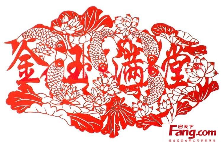 松树和仙鹤剪纸