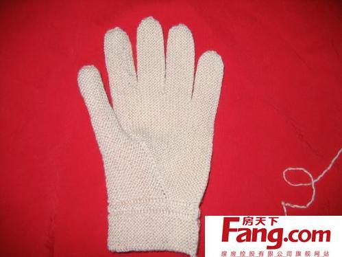 第90集五指手套的织法手工编织男士