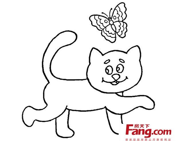 可爱动物简笔画大全 教你简单画法