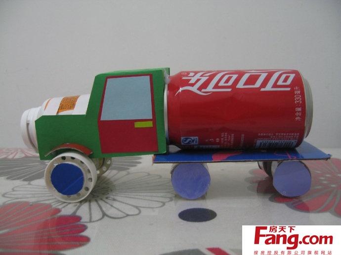 用纸 手工制作小汽车