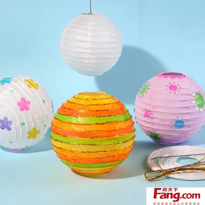 儿童手工制作图片欣赏 儿童手工制作灯笼方法