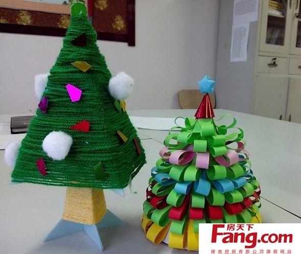 儿童手工制作圣诞树 圣诞节必备