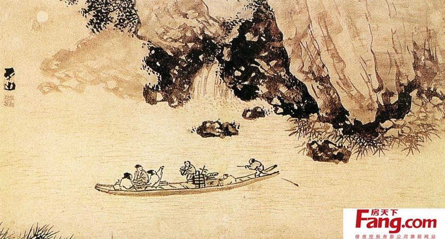 中国画技法之山水画皴法