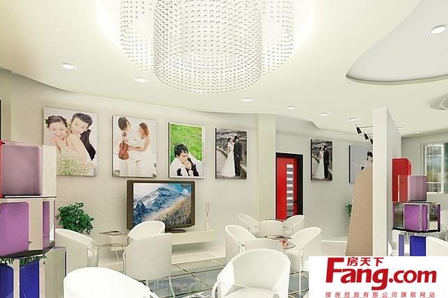 2,现代风格影楼结构和形式的完整