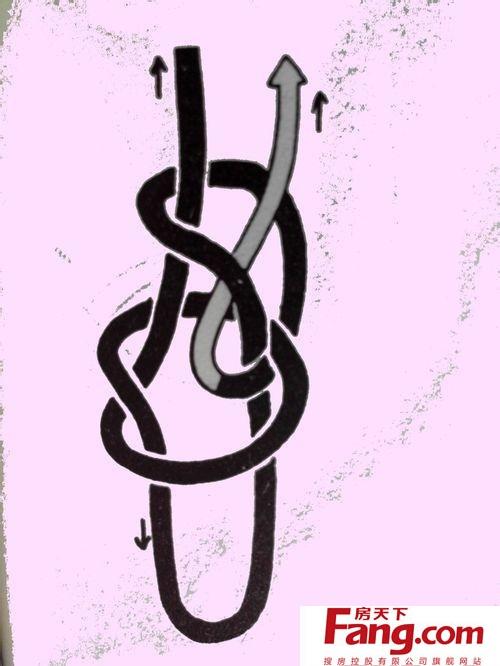项链绳的编法图解教程