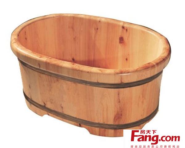 木浴桶尺寸的选择 常见木浴桶尺寸