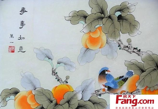 工笔花鸟画图片欣赏及技法详解