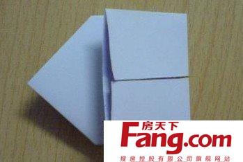 信纸的折法图解 经典折法你还记得吗