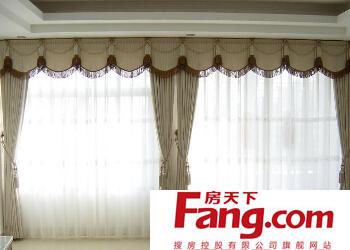 窗帘布如何清洗