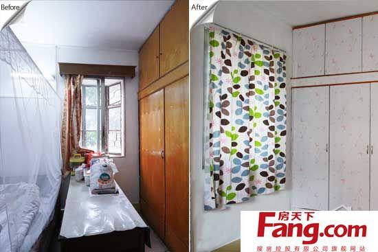 9平米卧室逆天改造 旧产品大翻新图片