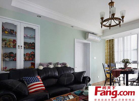 小户型客厅装修 美式来袭图片