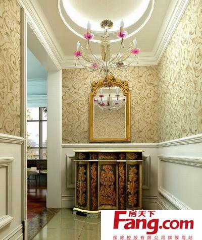玄关的目的是为了增加房间的私密性和美观性