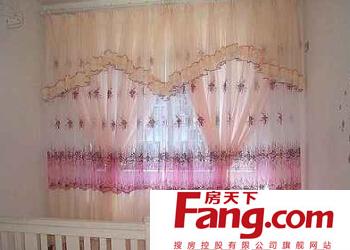蕾丝窗帘怎么安装