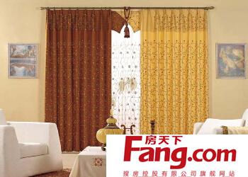 窗帘布选择方法