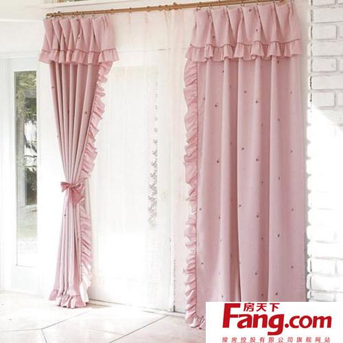 布艺窗帘的清洁与保养