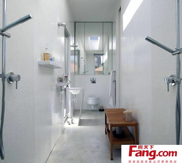 以色列别墅n:卧室和浴室设计图片