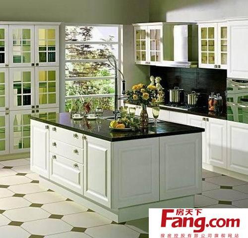 开放式厨房的设计原则