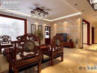 晨光上东-中式古典-三居室
