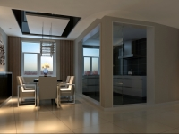 「大连天地」悦丽海湾-混合型风格-四居室