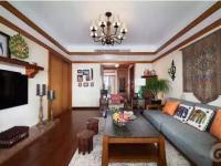 东南亚风格+三居室