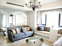 高新水晶卡芭拉 两室两厅120平田园风全包