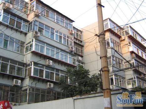 历山路单位宿舍小区租房,两室一厅,解放路历山路单位宿 2室1厅50高清图片