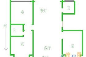 41中旁 二环边 偏门大三室 中间楼层 家具家电齐全