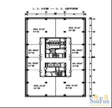 汉威国际广场平面图