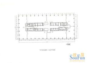 建外SOHO写字楼平面图