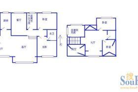 新生活家园 商/住两用 电梯空中大别墅 有装修 空房