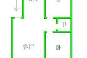和平花园 精装 全新家具电器空调 六加一 4楼 有下房 含物业 年租