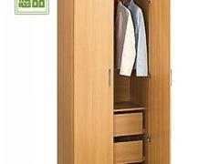 超值两门大衣柜 宜家简易衣橱组合 特价定做整体衣柜 悠品家具