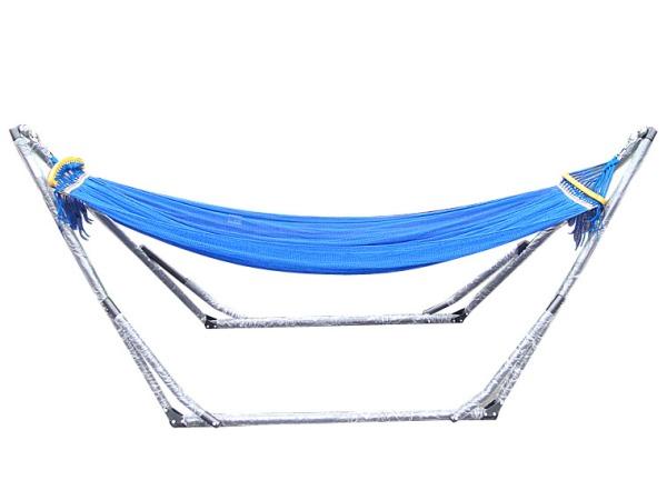 折叠式吊床单人野营吊床 秋千户外 加长加宽室内休闲