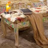 法丽莎G3 欧式家具 法式 实木 床尾凳 时尚 古典 特价包邮
