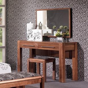 康诺威 北欧家具现代实木 简约梳妆台 梳妆桌板式化妆台303 特价