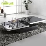 mikuo茶几 时尚 简约2012 现代 移动 玻璃 钢化 特价 小简易 826A图片