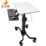 达宝利爱格升Ergotron自由升降桌机房移动电脑桌站式办公桌 现货