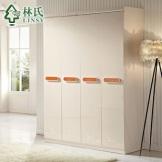 林氏家具现代衣柜 整体衣柜大衣柜时尚衣橱 套房家具G-C505
