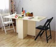 《赛云阁》韩式组合 时尚折叠餐桌 伸缩书桌图片