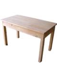凡恋品/电脑桌餐桌实木餐桌折叠松木实木桌子办公桌简约/简易书桌图片